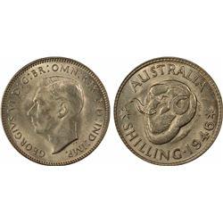 1946 Shilling MS 64