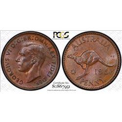 1951 Perth Penny MS 63 BN