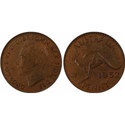 1952 Perth Penny MS 63 BN