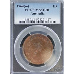 1964 M Penny MS 64 RB