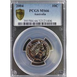 2004 10c MS 66