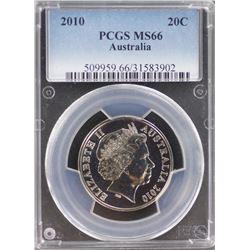 2010 20c MS 66