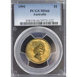1991 $1 MS 66