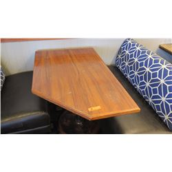 Koa Wood Table (29x46x28H) - 5 Sided