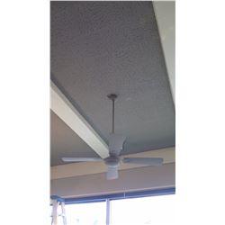 White 4-Blade Ceiling Fan