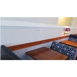 Koa Wood Wall Panel Strip - Approx. 48 ft Long
