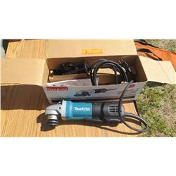 Makita 9564P Angle Grinder - Appears Unused