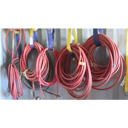 Qty 5 Air Compressor Hoses (Length Unknown)