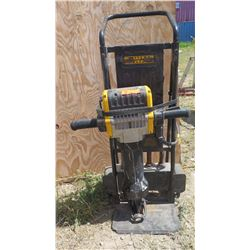 "Dewalt D25980 Hex Pavement Breaker - 68 lb. 1-1/8"" with Cart & Bits"