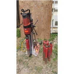 Hilti DD200 Diamond Core Drilling System w/ 6 Bits