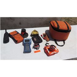 Carlson Explorer II Data Collector System w/ Case & Accessories Shown