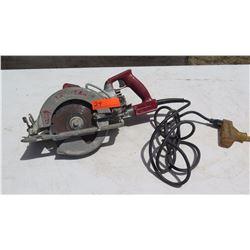 "Skilsaw SHD77M 15 Amp 7-1/4"" Mag Worm Drive Saw"
