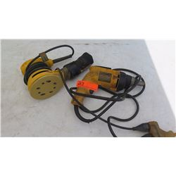 Dewalt DW257 Deck/Drywall Screwdriver & Orbital Sander