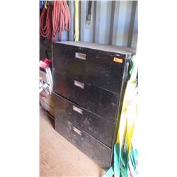 HON 4-Drawer Lateral File Cabinet (for tool storage) - Contents not included