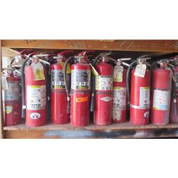 Large Lot of Fire Extinguishers