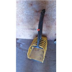 Qty 6 Upright Dust Pans