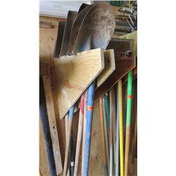 Qty 6 Misc. Shovels
