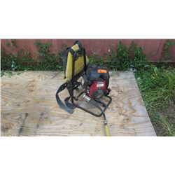 OZTEC BP-50A 2.5 HP Backpack Concrete Vibrator w/Honda Motor (runs for a while then dies out)