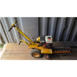 Trencher w/Honda GX 160 Motor (Can't Start, Pull Cord Stuck)