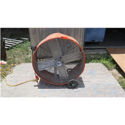 Maxx Air Industrial Fan Model BF30DD