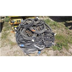 Large Lot of Electrical Cables for Power Distribution Boxes