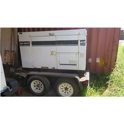 MQ Power Corp Whisperwatt 45KW Generator - 2373 Hrs. Starts & runs Had to Jump Start