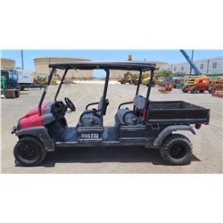 2011 CLUBCAR XRT1550SE 4 SEAT UTV - KUBOTA DIESEL -RUNS/DRIVES ENGINE SMOKES-1809 hours