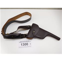 HOLSTER, WITH SHOULDER HARNESS, USED FOR MAUSER C96