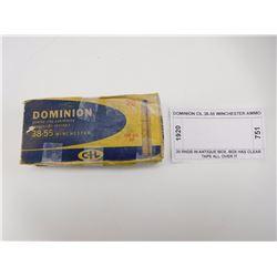 DOMINION CIL 38-55 WINCHESTER AMMO