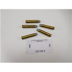 50-110 WINCHESTER BLACK POWDER AMMUINITION