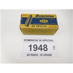 DOMINION 38 SPECIAL