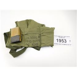 CLOTH AMMO BELT WITH 30-06 IN ENBLOCS