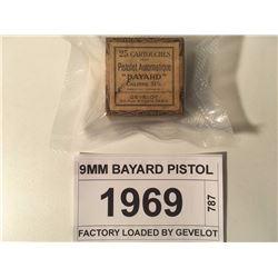 9MM BAYARD PISTOL