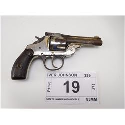 IVER JOHNSON , MODEL: SAFETY HAMMER AUTO MODEL 2 , CALIBER: 38 S & W