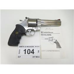 SMITH & WESSON , MODEL: 627-0 , CALIBER: 357 MAG