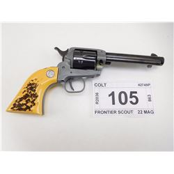 COLT , MODEL: FRONTIER SCOUT , CALIBER: 22 MAG