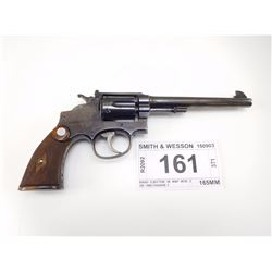 SMITH & WESSON , MODEL: HAND EJECTOR 38 M&P MOD 3 OF 1905 CHANGE 3 , CALIBER: 38 SPL