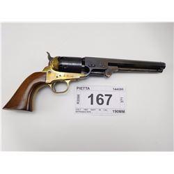 PIETTA , MODEL: COLT 1851 NAVY 36 CAL REPRODUCTION , CALIBER: 36 CAL BLACK POWDER