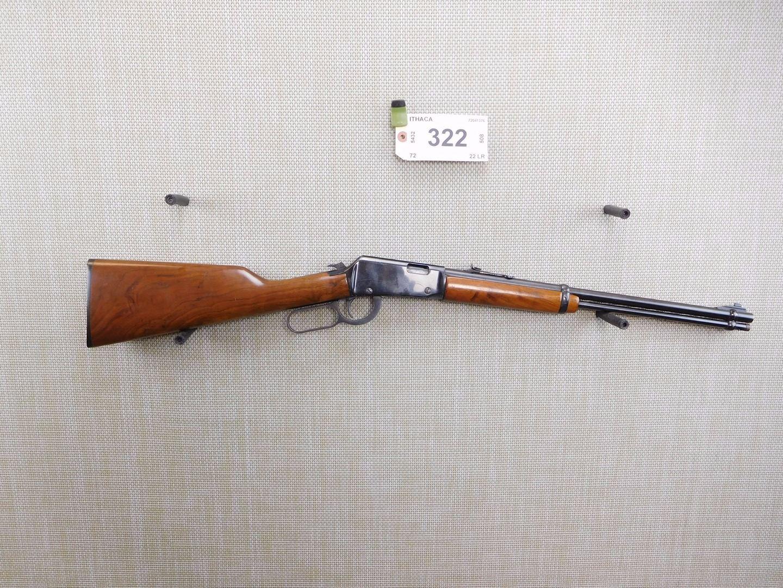 ITHACA , MODEL: 72 SADDLE GUN , CALIBER: 22 LR