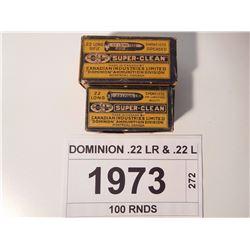 DOMINION .22 LR & .22 L