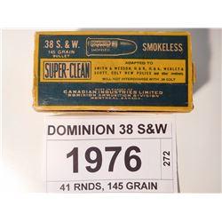 DOMINION 38 S&W