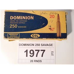 DOMINION 250 SAVAGE