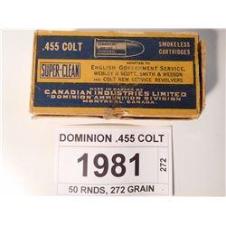 DOMINION .455 COLT