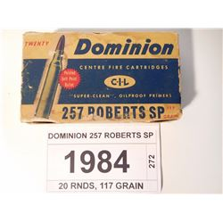 DOMINION 257 ROBERTS SP