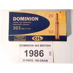 DOMINION 303 BRITISH