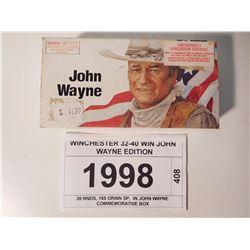 WINCHESTER 32-40 WIN JOHN WAYNE EDITION