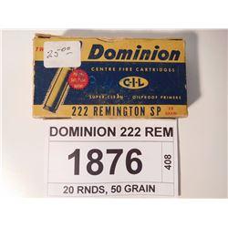 DOMINION 222 REM
