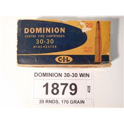 DOMINION 30-30 WIN