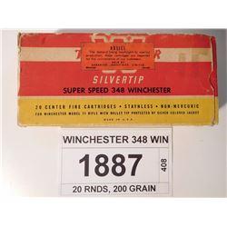 WINCHESTER 348 WIN