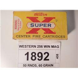 WESTERN 256 WIN MAG